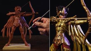 Sculpting Sagittarius Seiya | Saint Seiya