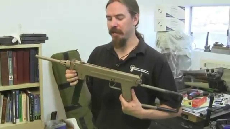Madsen M1950 SMG Disassembly and Shooting