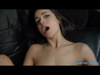 Young Lexi gets A Creampie by her Boyfriends Step Dad POV