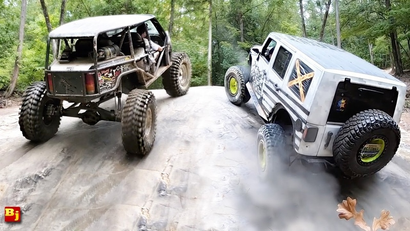 BleepinJeep VS Busted Knuckle @ Gulches Offroad Park