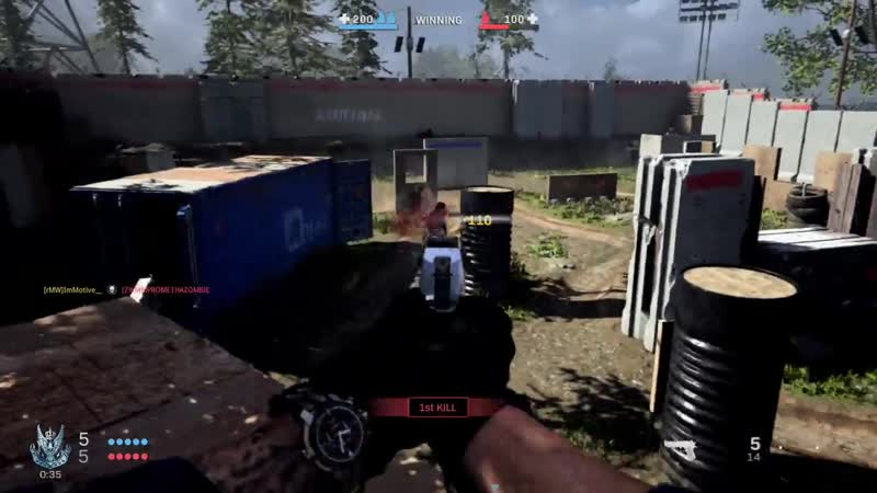 Don't tell anybody but you can get on top of most of the barriers in Speedball Modern Warfare