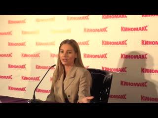 """Пресс-конференция с Кристиной Асмус. Премьера фильма """"Текст"""""""