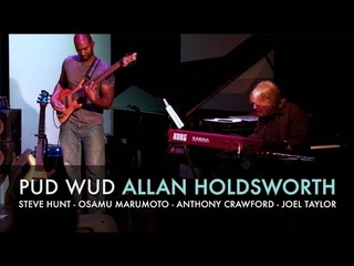 Pud Wud Live at the Allan Holdsworth Memorial Concert at Alva's Showroom