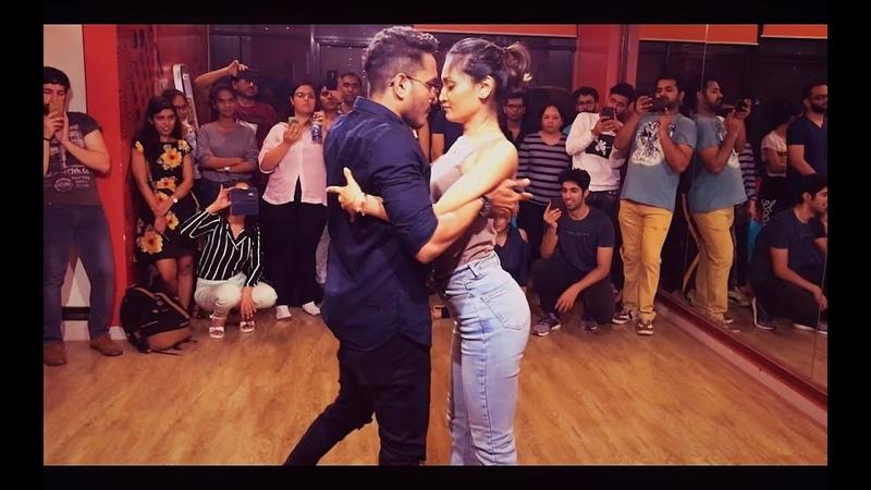 Cornel Rithika | Bachata Sensual | Moves like Jagger- Maroon 5 | Bachata Remix