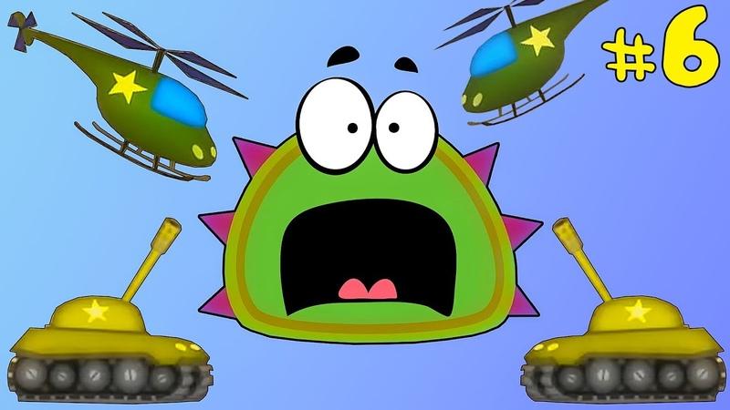 Лизун СЛИЗНЯК захватывает мир 6 Глазастик съел всех в городе Серия 3 Игра Mutant Blobs Attack