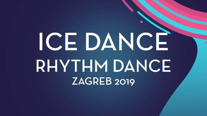 Emmy Bronsard Aissa Bouaraguia CAN Ice Dance Rhythm Dance Zagreb 2019