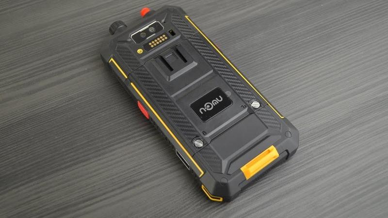 Nomu T18 рация дополнительная камера 5200 мАч защита IP68