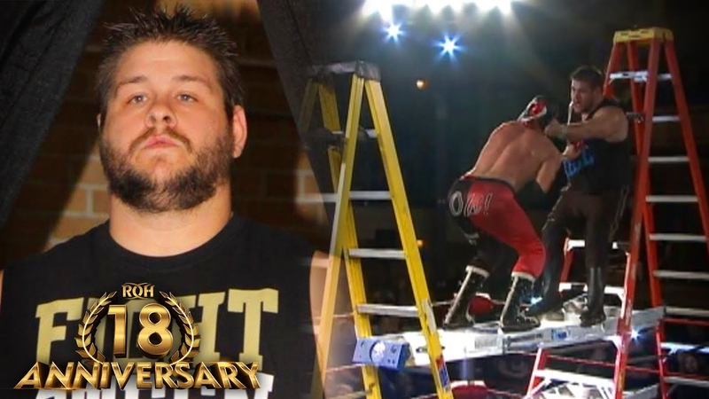 3 WILD Kevin Steen Matches in ROH ROH 18th Anniversary Collection
