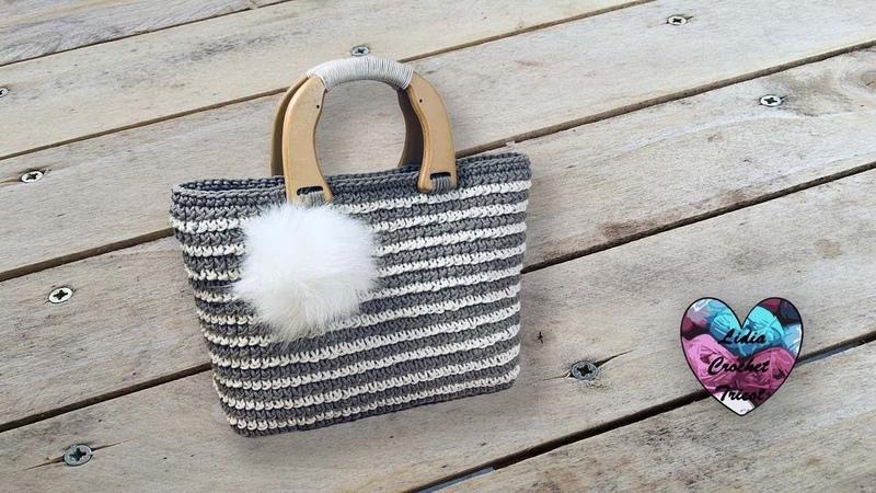 Concours! Sac Crochet Rustique Facile Lidia Crochet Tricot