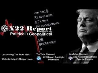 X22 Report vom 07-01-2020 - Iran und Kenia rücken in den Fokus- Marker gesetzt