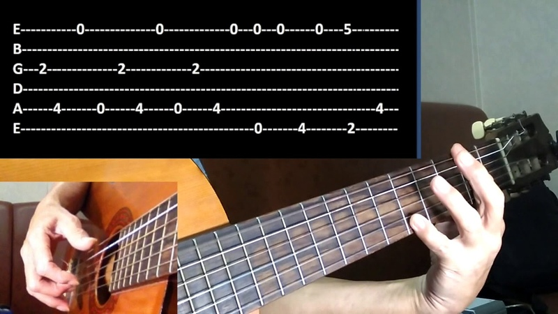 Obladi oblada Beatles tutorial for guitar solo