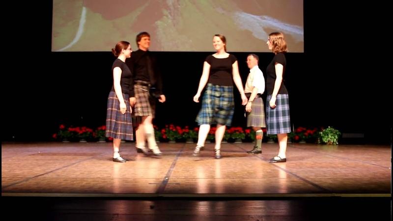Twin Cities Branch RSCDS dancing Shiftin Bobbins