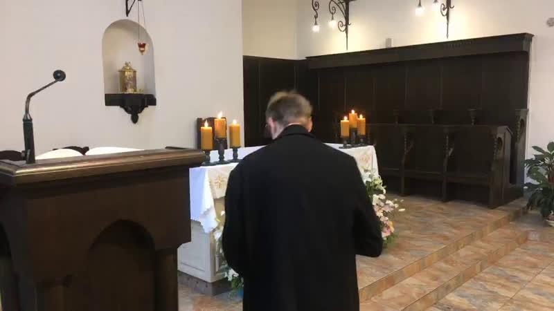 XXIX е рядовое воскресенье в монастырском храме св Антония Чудотворца 1 часть