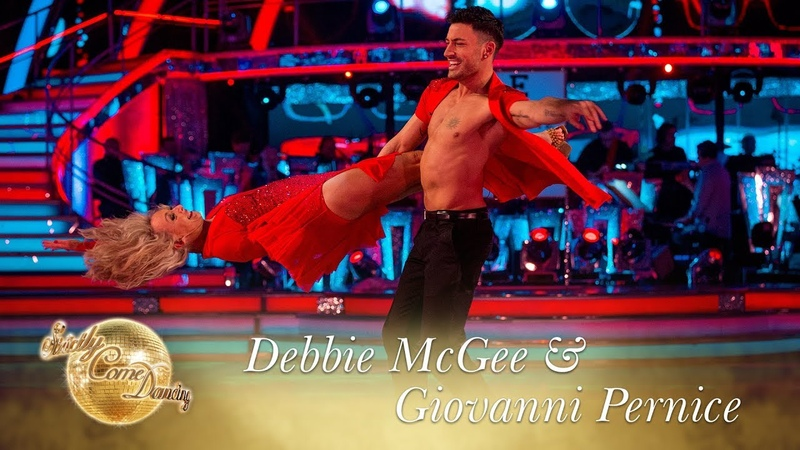 Judges' Pick Debbie McGee Giovanni Pernice Salsa to Can't Take My Eyes Off You Final 2017