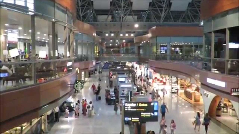 Inside Istanbul Sabiha Gokcen International Airport SAW Turkey