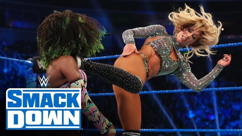 Video@alexablissdaily Alexa Bliss vs Naomi vs Carmella vs Dana Brooke SmackDown Feb 7 2020