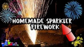 Homemade Sparkler Firework!
