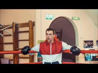 Боксёр клуба Сатурн (Фрунзенец) ВЛАДИСЛАВ РОДРИГЕС. Отработка защиты - тренировка с мячами.