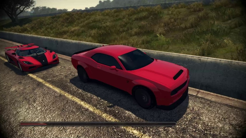 TDU2-RS Dodge Challenger SRT Demon Race