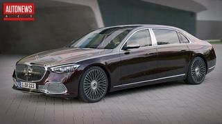Новый Mercedes-Maybach S-Class - эталон автомобилестроения! Все подробности