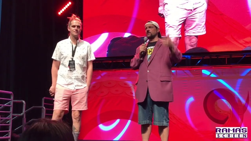 JAY AND SILENT BOB REBOOT Panel with Kevin Smith Jason Mewes