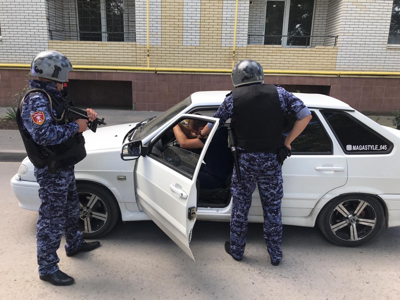 В Таганроге наряд вневедомственной охраны задержал пьяного водителя