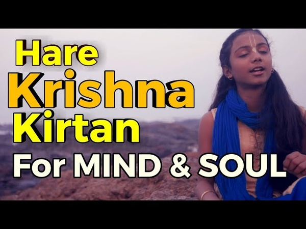 THIS VOICE AND KIRTAN WILL STEAL YOUR HEART ~ JUST CLOSE YOUR EYES HARE KRISHNA HARE RAM ~ हरे कृष्ण