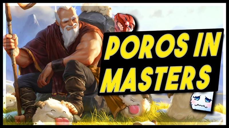 Poros in Masters LoR Game Legends Of Runeterra Gameplay