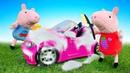 Свинка Пеппа и Джордж помыли папину машину - Все серии подряд