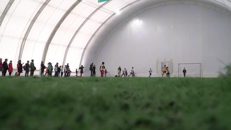 Петропавлда 2010-2011 жылдары туған балалар арасындағы футбол лигасының ойындары аяқталды.