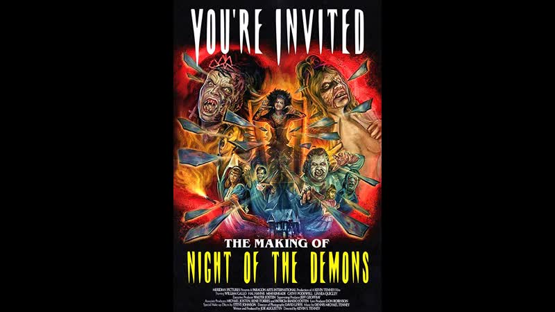 You're Invited The Making of Night of the Demons 2014 dir Aine Leicht