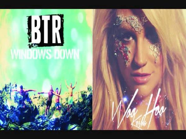 Ke$ha ft Big Time Rush Woohoo Down