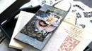 Используем папку для тиснения в открытке с Еленой Моргун