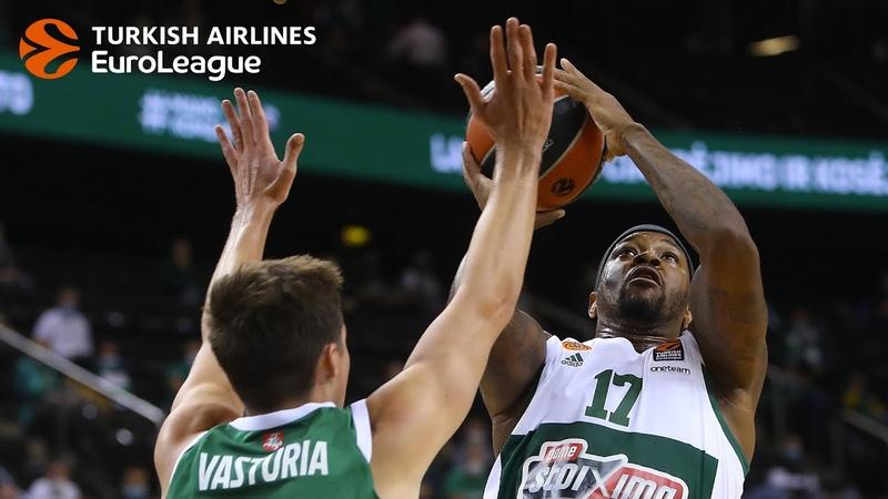 We're Back Preseason Tour Kaunas 3rd place game MVP Marcus Foster Panathinaikos OPAP Athens
