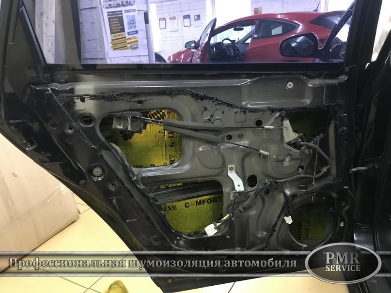 Шумоизоляция Nissan Teana, изображение №5