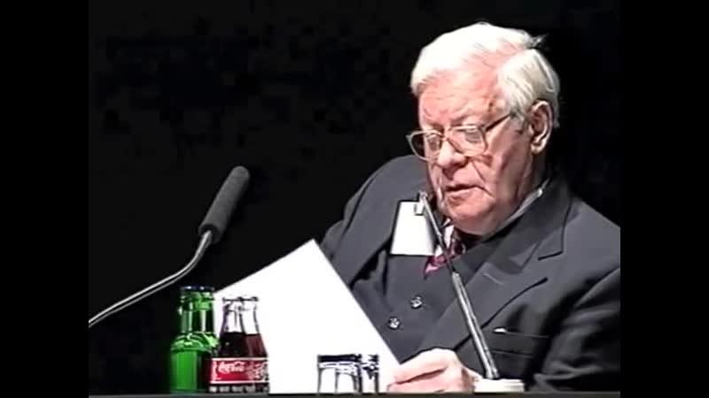 Tue Gutes und rede darüber - Helmut Schmidts Milleniums-Rede an die Freimaurer