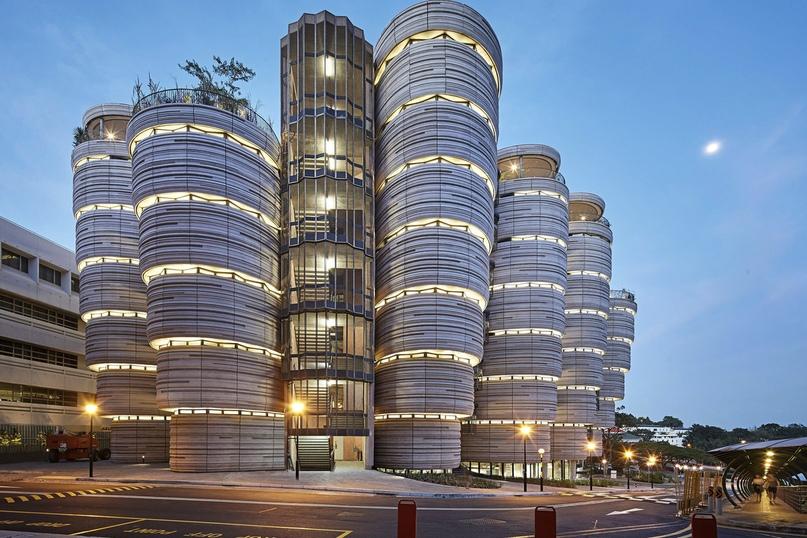 Это футуристичное здание — Сингапурский технологический университет