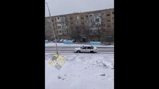 Машины не могут заехать на подъем в 14 мкр Актау