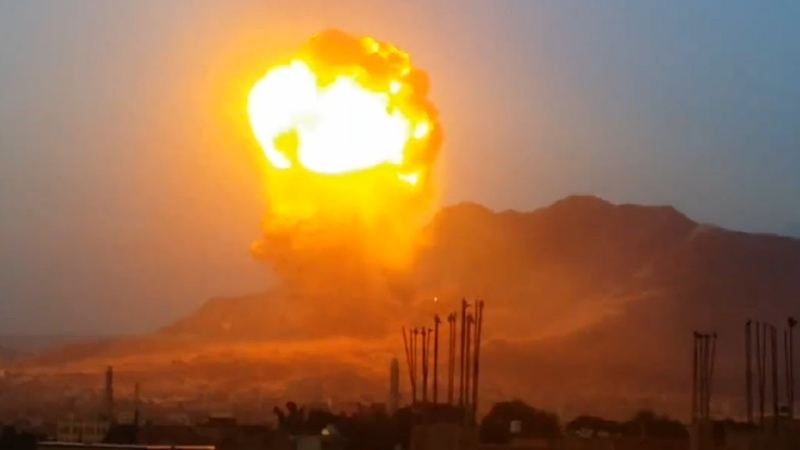 Nuclear Strike in Yemen May 11 2015 Neutron Nuke