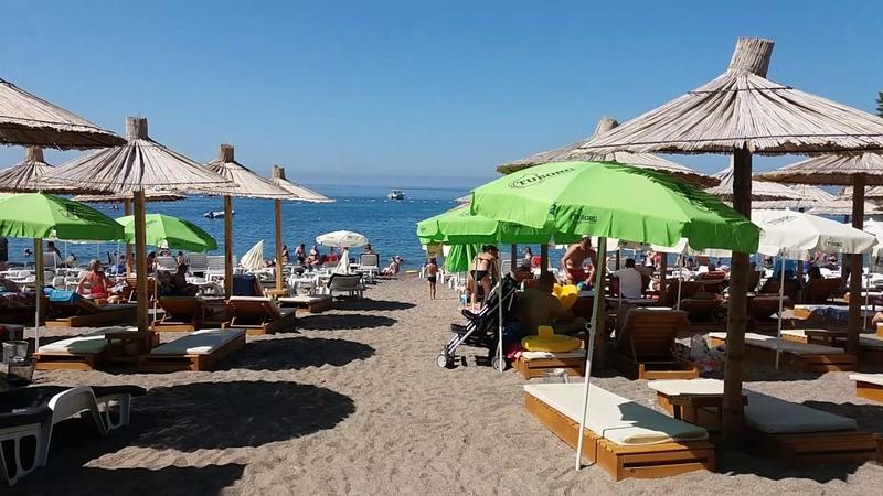 Plaza Lucice petrovac na moru crna gora