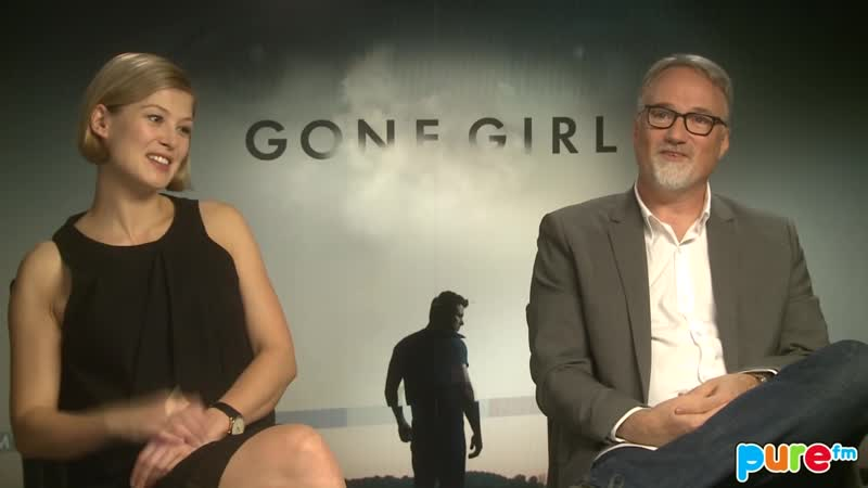 GONE GIRL David Fincher Rosamund Pike PURE Interview