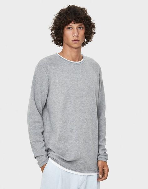 Двуслойный свитер