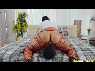 Jennifer Mendez - Fishnet Booty Sex,Feet,Fetish,Wet,Blowjob,Face Fuck,Face Sitting,Indoors,Amateur,Anal,Ass Worship