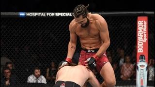 Самые сумасшедшие финиши с прыжка в UFC
