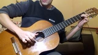Soha - Mil Pasos на гитаре