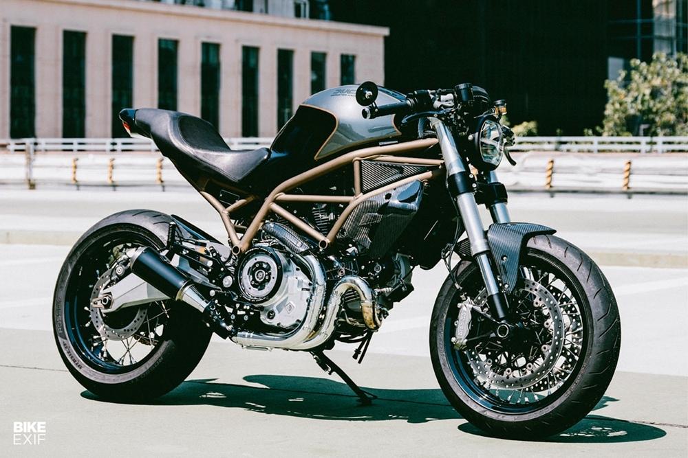 Angry Lane: кастом Ducati Monster 797