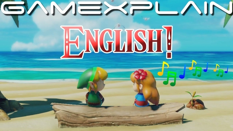 ♫ Ballad of the Wind Fish...Now Sung in English! ♫ - Zelda: Link's Awakening (Story Trailer)