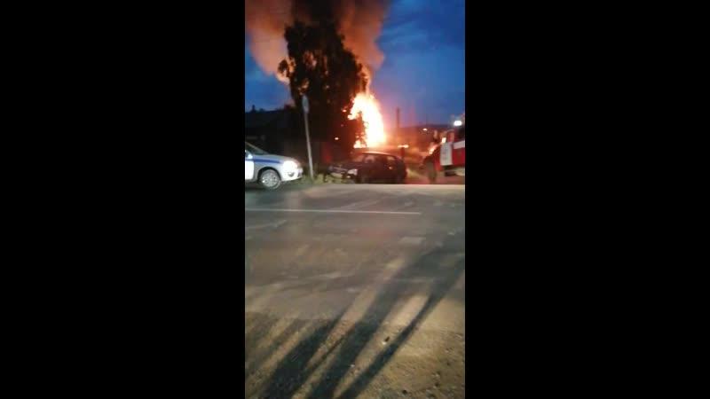 пожар в Билимбае