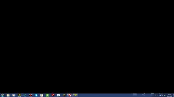 Что Делать Если Вместо Обоев Черный Экран