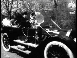 Vintage Cars, People In Period Dress (1946)